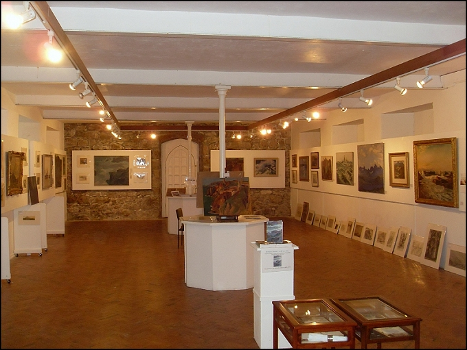 September 2014 Exhibition at the Crypt, St Ives